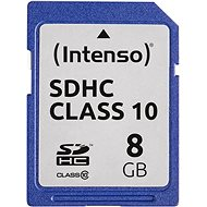 Intenso SD Card Class 10 8GB - Speicherkarte
