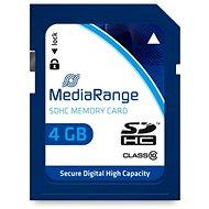 MEDIARANGE SDHC 4GB Class 10 - Speicherkarte