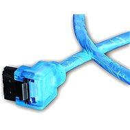 AKASA SATA blue UV 50 cm - Datenkabel