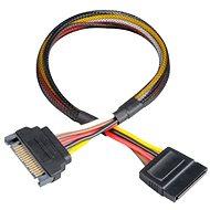 AKASA SATA Stromkabel-Verlängerung - Adapter