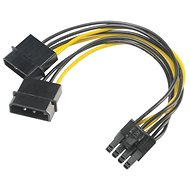 AKASA Power Reducer 4pin Molex auf 8pin PCIe - Adapter