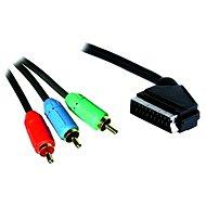 OEM SCART - 3x RCA RGB Verbindung 3 m