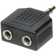 Adapter OEM audio 3.5mm JACK --> 2x 3.5mm JACK - Redukce