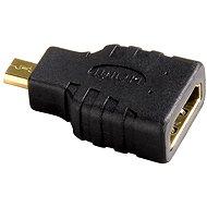Hama HDMI-Stecker Typ A - D Stecker Typ Micro (HDMI F <-> HDMI micro M) - Adapter