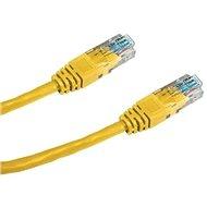 Datacom CAT5E UTP gelb 0.5m
