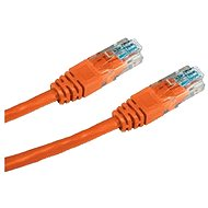 Netzkabel Datacom CAT5E UTP orange 0.5m - Síťový kabel