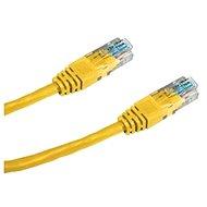 Patchkabel, Datacom, CAT6 UTP, 0,25 m gelb - Netzkabel