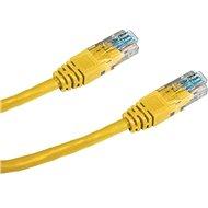 Datacom CAT5E UTP gelb 1m