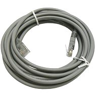 Netzkabel Datacom CAT5E UTP grau 5m - Síťový kabel