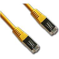 Datacom Netzwerkkabel CAT5e FTP gelb 2 m