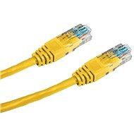 Datacom CAT5E UTP gelb 0.25m