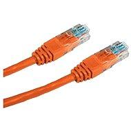 Datacom CAT5E UTP orange 0.25m