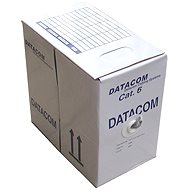 Datacom, Draht, CAT6, FTP, LSOH, 305 m / Spule - Netzkabel