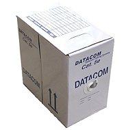 Datacom, abgeschirmt (Litze), CAT5 UTP, 305 Meter, blaue Farbe, Box - Netzkabel