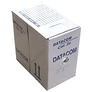 Datacom Netzwerkkabel abgeschirmt (Litze), CAT5 UTP, 305 Meter, Box, gelb - Netzkabel