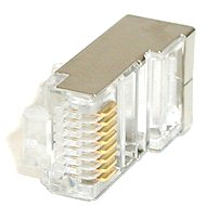 Roline 10-pack, RJ45, CAT5, STP, 8P8C, geschirmtes Kabel - Konnektor
