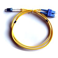 DATACOM LC-SC 09/125 SM 1 m duplex - Optisches Kabel