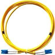 DATACOM LC-LC duplex 09/125 SM 2 m - Optisches Kabel