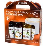 MONIN KAFFEE BOX 4 x 0,25 l - Sirup