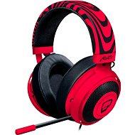 Razer Kraken PRO V2 Neon Red PewDiePie Headset - Kopfhörer mit Mikrofon