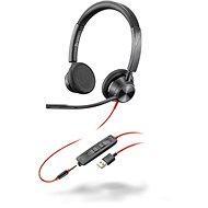 Poly BLACKWIRE 3325 - USB-A + 3,5 mm - Kopfhörer