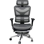 MOSH AIRFLOW-702L schwarz/weiß - Bürostuhl