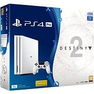 PlayStation 4 Pro 1TB - Glacier White + Destiny 2 - Spielkonsole