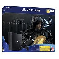 PlayStation 4 Pro 1 TB + Death Stranding - Spielkonsole
