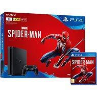 PlayStation 4 1 TB Slim + Spider-Man - Spielkonsole