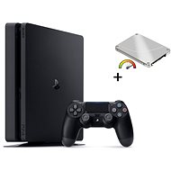 PlayStation 4 Slim 480 GB SSD + 500 GB HDD Extern - Spielkonsole