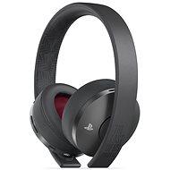 Sony PS4 Gold Wireless Headset Schwarz - TLOU Part II Edition - Gaming Kopfhörer
