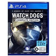 Watch Dogs Complete Edition - PS4