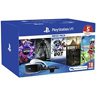 PlayStation VR Mega Pack 2 (PS VR + Kamera + 5 Spiele) - VR-Headset