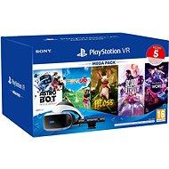 PlayStation VR Mega Pack 3 (PS VR + Kamera + 5 Spiele + PS5-Adapter) - VR-Headset