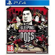 PS4 - Sleeping Dogs Definitive Edition - Konsolenspiel