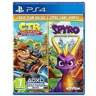 Crash Team Racing Nitro Fueled and Spyro Reignited Trilogy Bundle - PS4 - Konsolenspiel