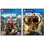 Far Cry Primal CZ + Far Cry 4 - PS4 - Spiel für die Konsole
