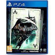 Batman Return to Arkham - PS4 - Konsolenspiel