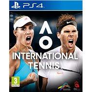 AO International Tennis - PS4 - Konsolenspiel