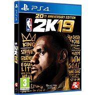 NBA 2K19 - 20. Jubiläumsausgabe - PS4 - Konsolenspiel
