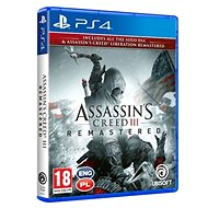 Assassins Creed 3 + Liberation Remaster - PS4 - Konsolenspiel