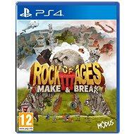 Rock of Ages 3: Make and Break - PS4 - Konsolenspiel