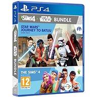 The Sims 4: Star Wars - Journey to Batuu bundle (Komplettes Spiel + Erweiterung) - PS4 - Konsolenspiel