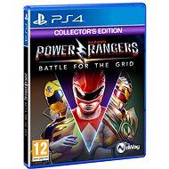 Power Rangers: Battle for the Grid - Collectors Edition - PS4 - Konsolenspiel