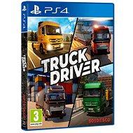 Truck Driver - PS4 - Konsolenspiel