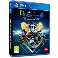 Monster Energy Supercross 4 - PS4 - Konsolenspiel