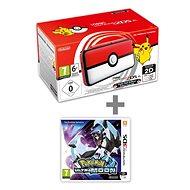 Nintendo NEW 2DS XL Pokéball Edition + Pokémon Ultra Moon - Spielkonsole
