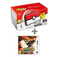 Nintendo NEW 2DS XL Pokéball Edition + Pokémon Ultra Sun - Spielkonsole