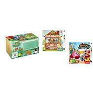 Nintendo NEW 2DS XL Animal Crossing + Crossing: Happy Home Designer + Kirby Battle Ro - Spielkonsole