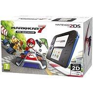 Nintendo 2DS Black & Blue + Mario Kart 7 - Spielkonsole